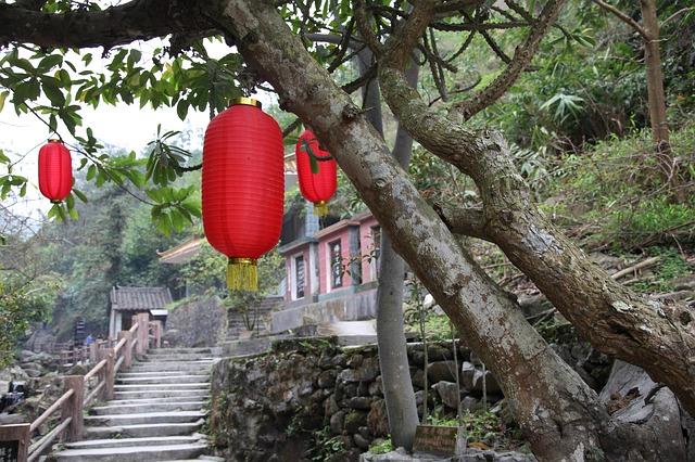 lampe rouge tibet