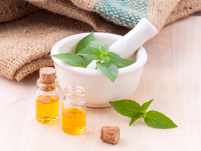 huiles de massage bio